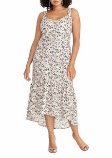 RACHEL Rachel Roy Women's Plus Size Claudette Knit Jacquard Midi Dress  14W