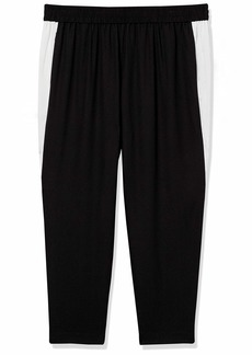 RACHEL Rachel Roy Women's Plus Size Inset Track Pant