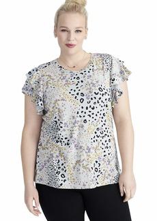 RACHEL Rachel Roy Women's Plus Size IRIS TEE