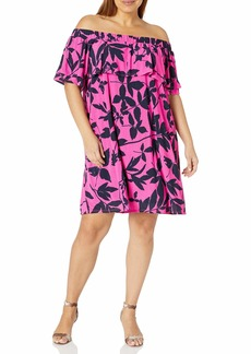RACHEL Rachel Roy Women's Plus Size Libby Mini Dress