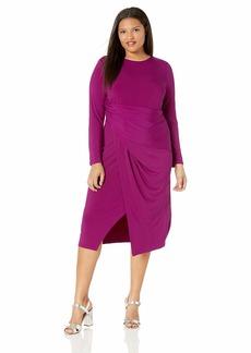 RACHEL Rachel Roy Women's Plus Size Svana Dress  3X