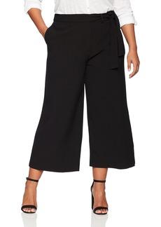 RACHEL Rachel Roy Women's Plus Size Waist TIE Trouser