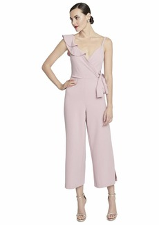 RACHEL Rachel Roy Women's Reed Wrap Jumpsuit  L