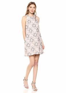 RACHEL Rachel Roy Women's Sleeveless Lace Shift Dress  S