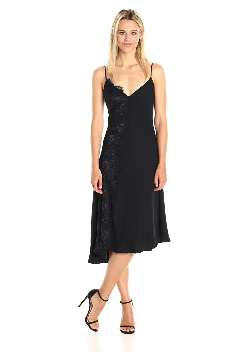 RACHEL Rachel Roy Women's Slip Dress with Lace
