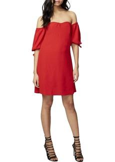 RACHEL Rachel Roy Women's Tie Off The Shoulder Woven Dress