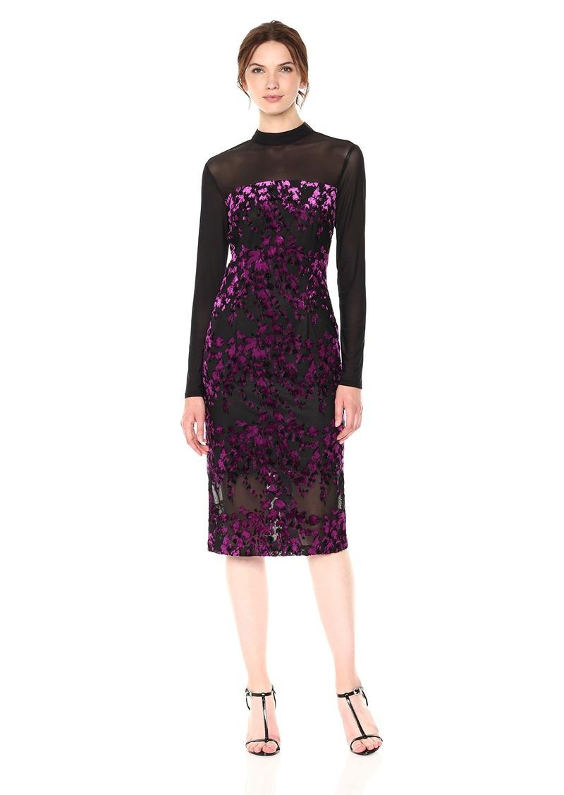 RACHEL Rachel Roy Women's Velvet Jacquard Dress