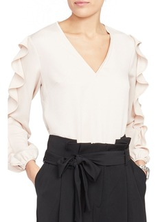 Rachel Roy Collection Contrast Edge Top