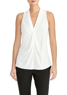 Rachel Roy Collection Drape Front Shell