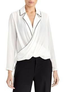 Rachel Roy Collection Draped Pajama Top