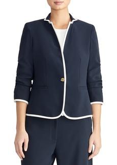 Rachel Roy Collection Gathered Sleeve Blazer