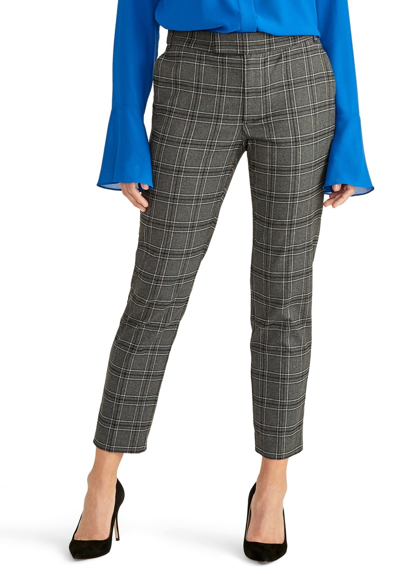 Rachel Roy Collection Plaid Skinny Pants