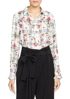Rachel Roy Collection Ruffle Sleeve Blouse