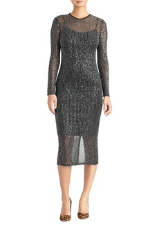 Rachel Roy Collection Sequin Midi Dress