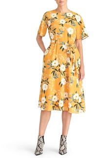 Rachel Roy CollectionFloral Belted Dress