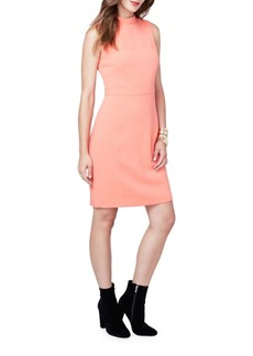 Rachel Roy Mockneck Sleeveless Sheath Dress