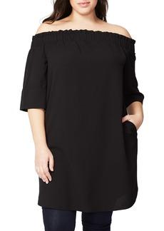 Rachel Roy Off the Shoulder Dress (Plus Size)