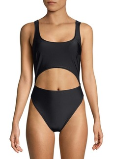 Rachel Roy One-Piece Cut-Out Swimsuit