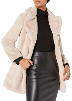 RACHEL Rachel Roy Women's Faux Fur Coat  M