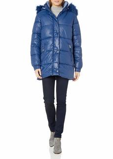 Rachel Roy Women's Heavy Puffer Jackets  M