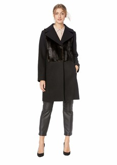 Rachel Roy Women's Wool Coat  Extra Large
