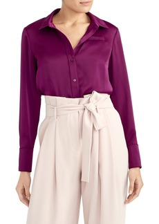 Rachel Roy Satin Blouse