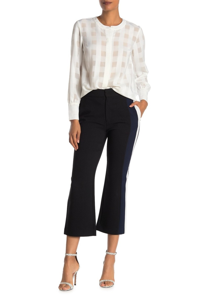 Rachel Roy Stripe Cropped Trousers