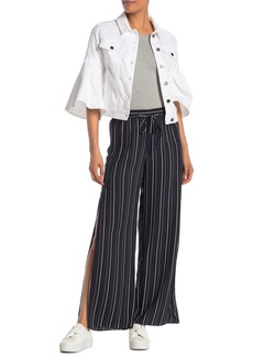 Rachel Roy Stripe Vented Drawstring Pants