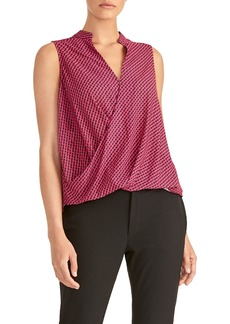 Rachel Roy Twist Neck Tank Top