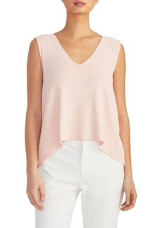 Rachel Roy V-Neck Knit Swing Top