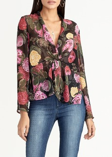 Rachel Roy Vaughn Twist Front Blouse