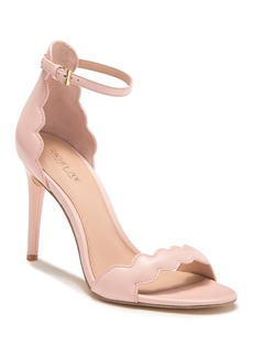 Rachel Zoe Ava Scalloped Leather Stiletto Sandal