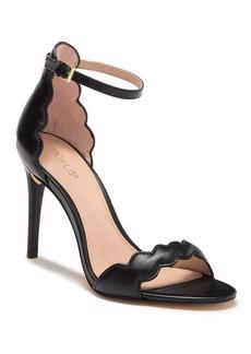 Rachel Zoe Ava Scalloped Leather Stiletto Sandal