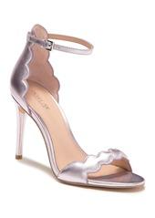 Rachel Zoe Ava Scalloped Metallic Leather Stiletto Sandal