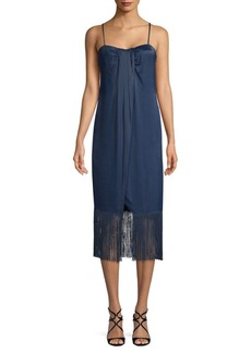 Rachel Zoe Brighton Fringe Hem Dress