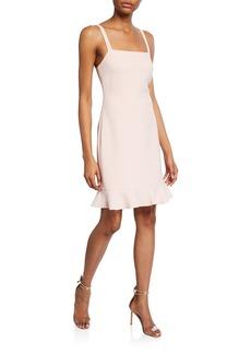 Rachel Zoe Darcie Square-Neck Sleeveless Cocktail Dress
