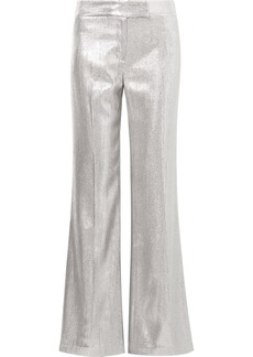 Rachel Zoe Eden Metallic Woven Wide-leg Pants