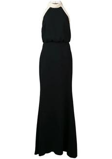 Rachel Zoe faux-pearl embellished dress