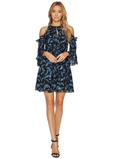 Rachel Zoe Feather Print Vikki Dress