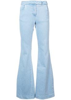 Rachel Zoe flared cuff trousers