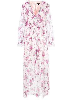 Rachel Zoe floral ruffle day dress