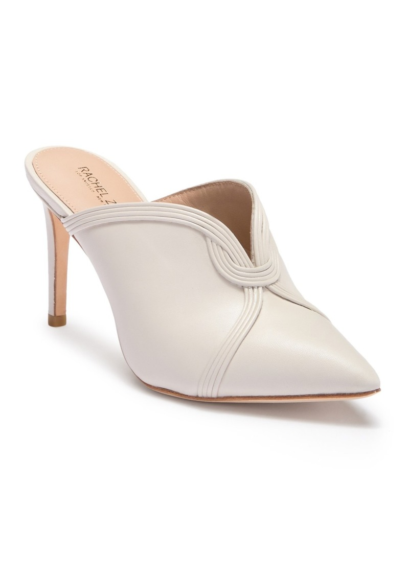 Rachel Zoe Lianne Leather Stiletto Mule