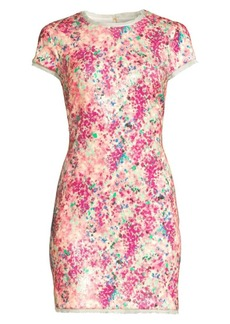 Rachel Zoe Lili Multicolor Sequin Mini Dress