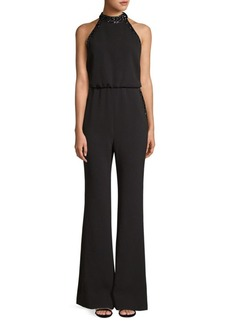Rachel Zoe Lou Sequin-Trim Jumpsuit