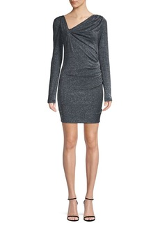 Rachel Zoe Mallory Metallic Sheath Dress