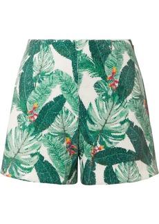 Rachel Zoe Miley Sequined Crepe Shorts