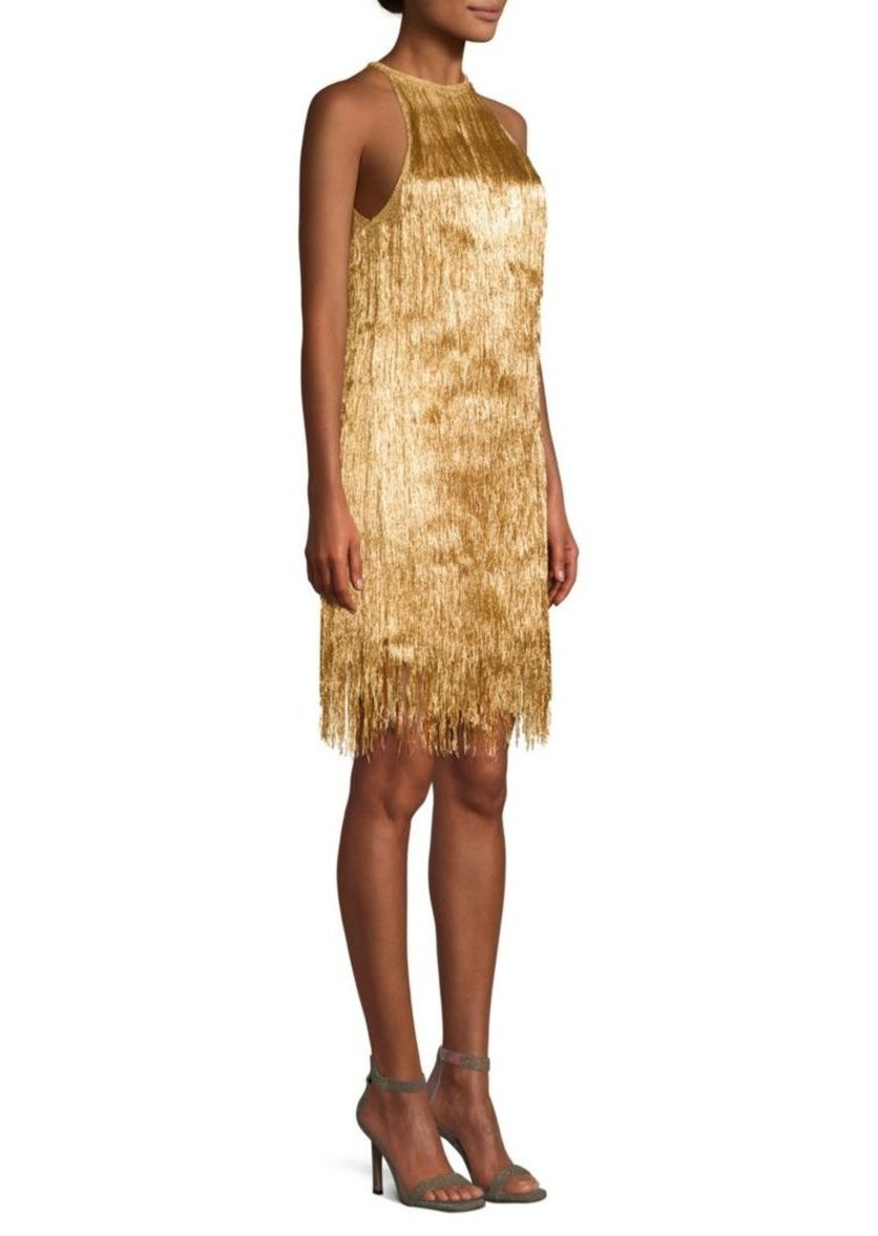 5ab76615312 Rachel Zoe Nova Knit Halter Shift Dress