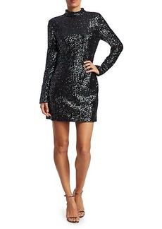 Rachel Zoe Pierina Sequin Mini Sheath Dress