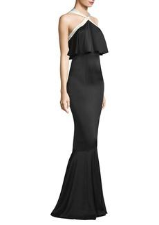 Rachel Zoe Amanda Halter Mermaid Gown