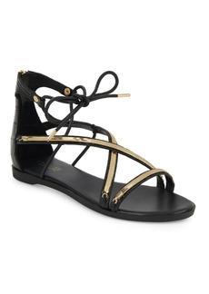 Rachel Zoe Babette Ankle-Strap Leather Sandals